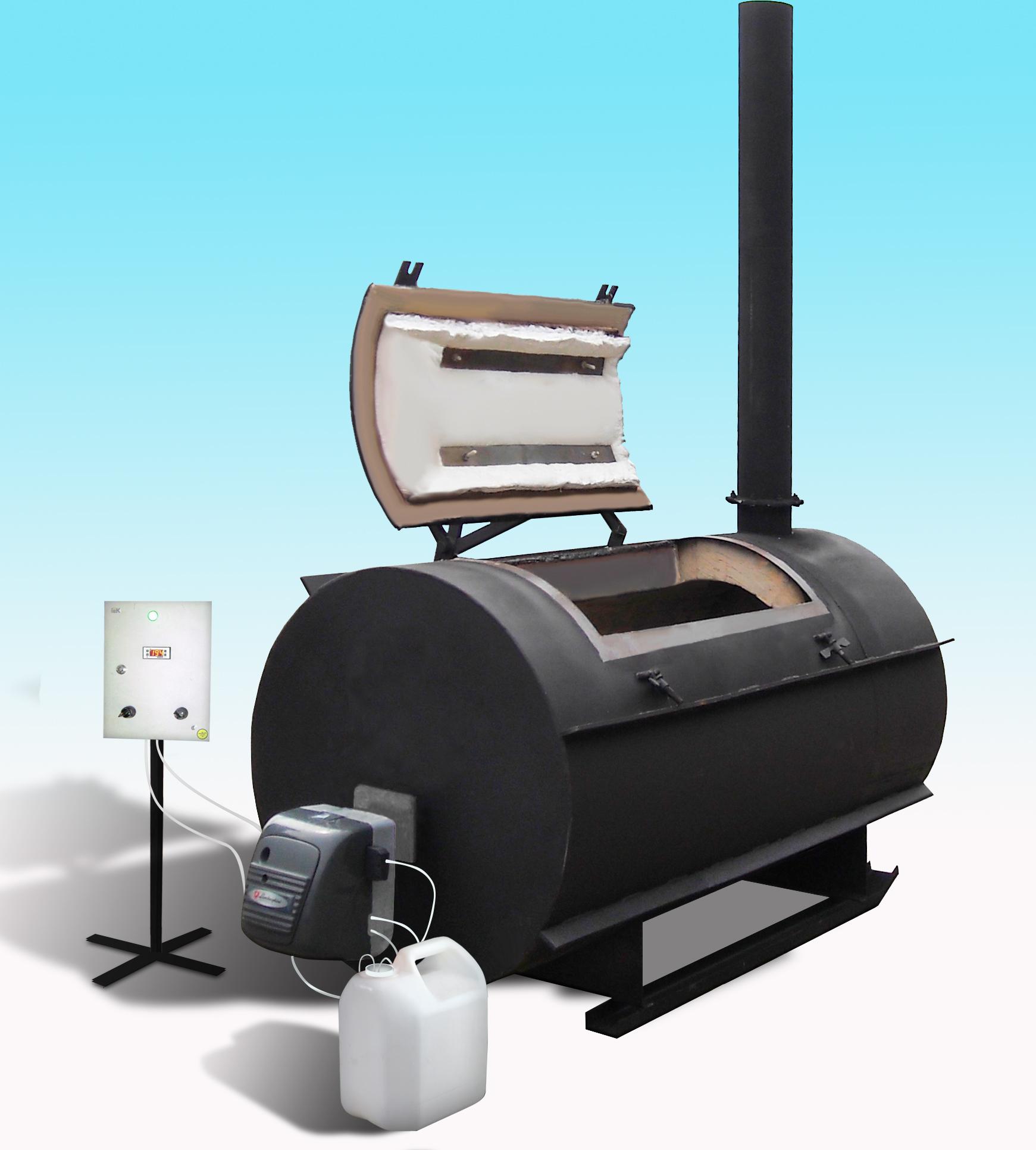 крематор, сжигание отходов, печь для отходов